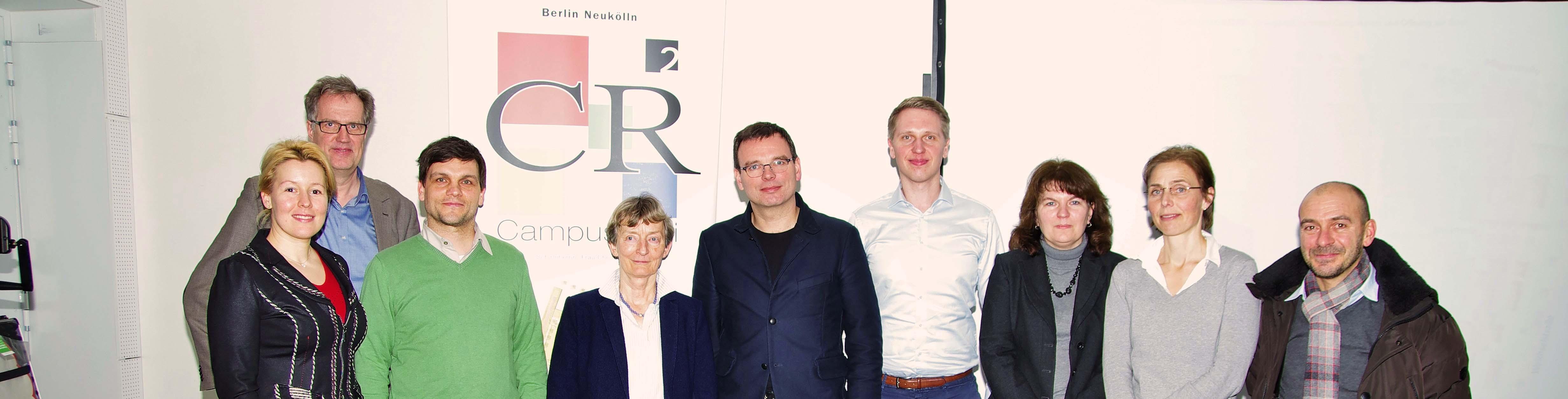 Foto: Simon | v.l.: Fr. Dr. Giffey, Hr. Bläsing, Hr. Dr. Rostalski, Fr. Wolter, Hr. Schulz, Hr. Hanke, Fr. Neuhaus, Fr. Grotewal, Hr. Bernard
