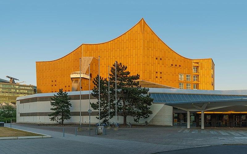 © A.Savin, Wikimedia Commons: Berliner_Philharmonie_Ruetli